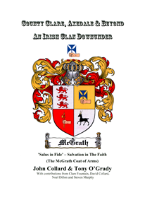 "Cover of ""County Clare, Axedale & Beyond; An Irish Clan Downunder"" by John Collard and Tony O'Grady"